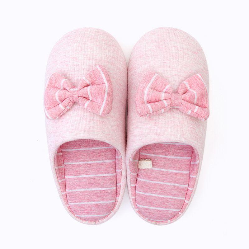 软底棉拖鞋冬 日式家居情侣半包跟托鞋男防滑月子拖鞋女秋天 PVC 鞋底