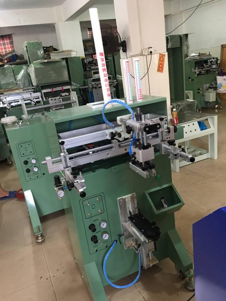 恩施州塑料餐盒转盘丝印机厂家半自动丝印机