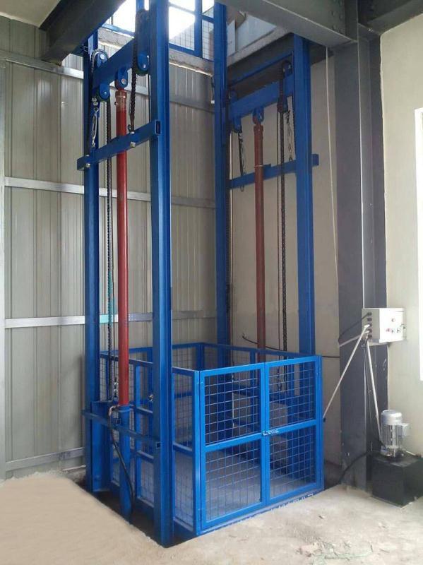sjd载货电梯厂家/5吨液压升降货梯/固定式导轨升降电梯