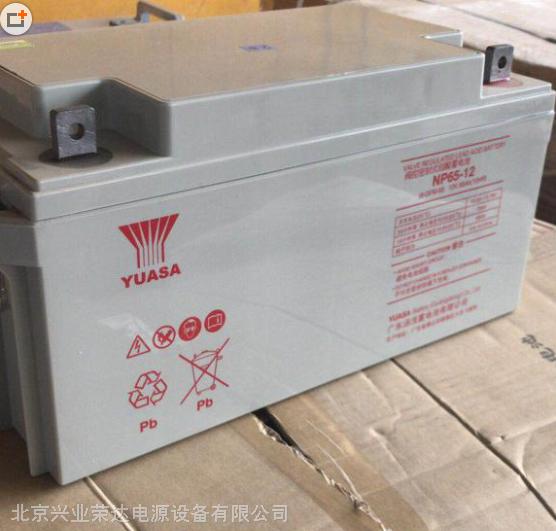汤浅蓄电池NP65-12铅酸免维护蓄电池12V65AH