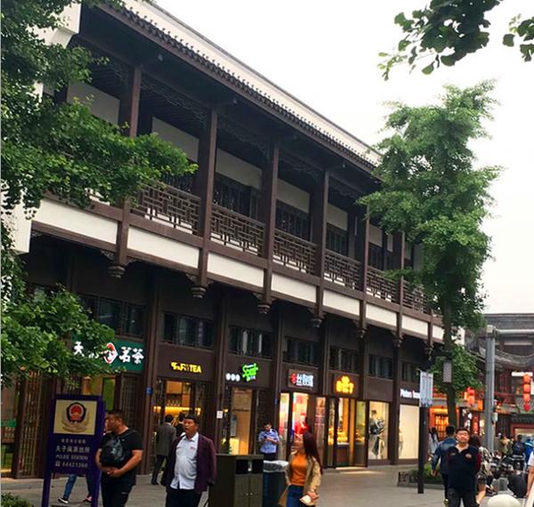 石家庄展览馆复古铝窗花护栏尺寸