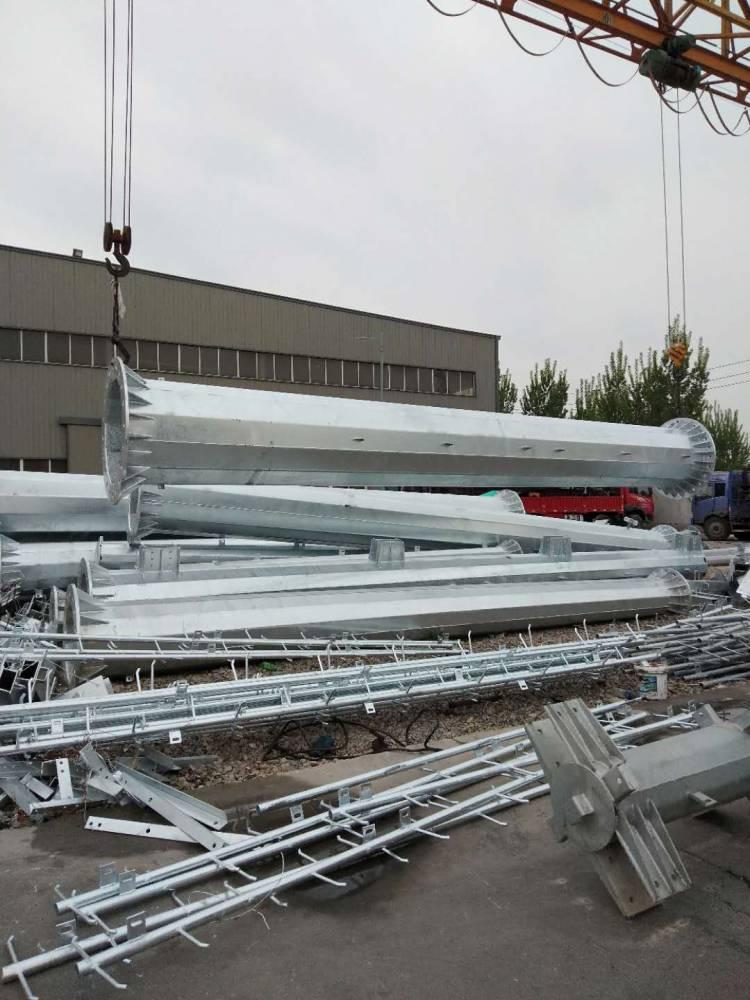 莱芜 35kv电力钢管塔 66kv电力钢管杆
