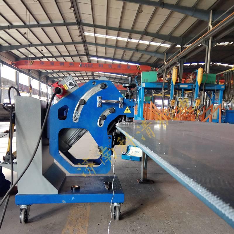 铣边机使用视频 钢板坡口机工作视频 钢板破口机视频