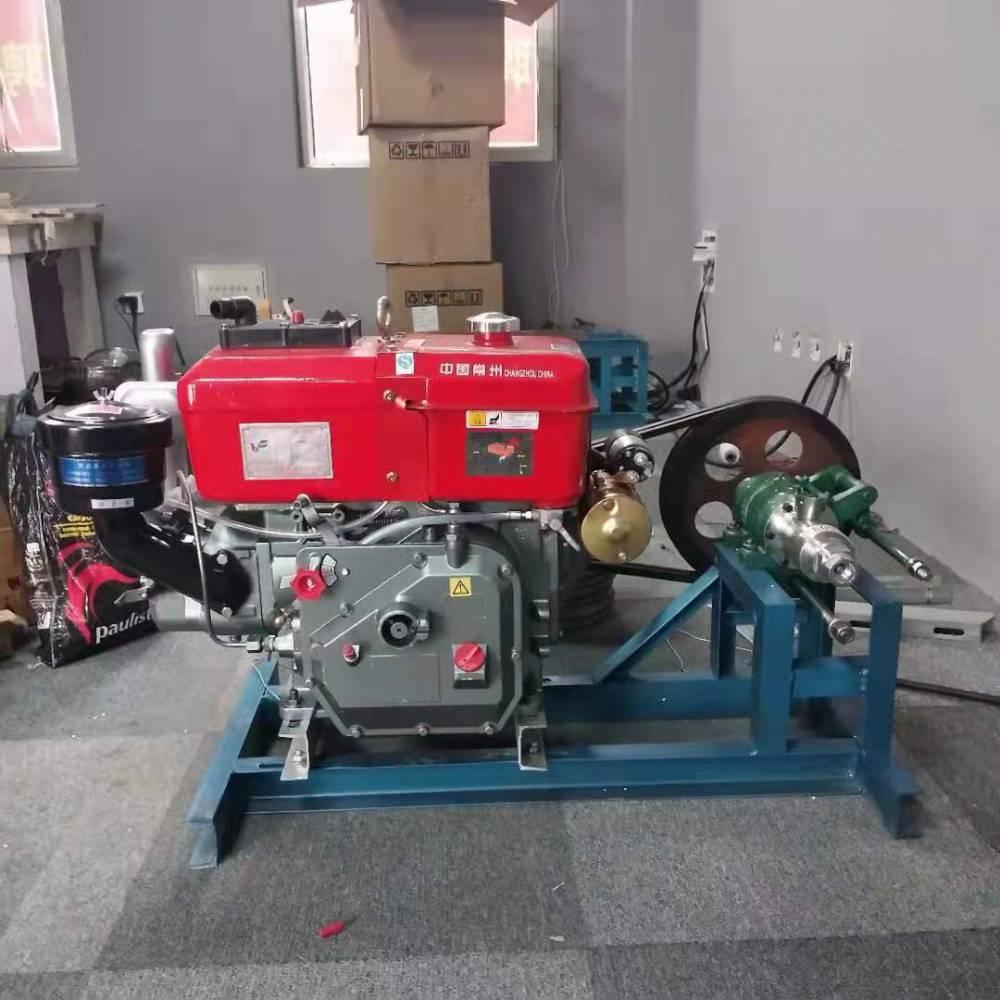 10馬力柴油機帶的多功能玉米膨化機 小型 雜糧膨化機價格