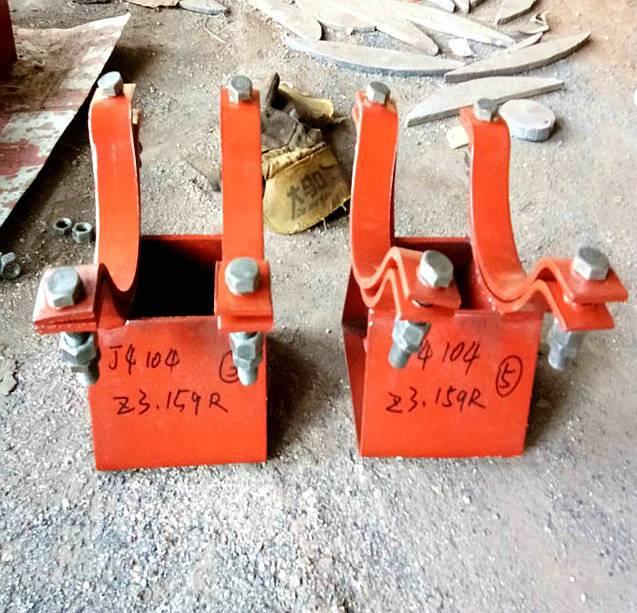 Z3管夹滑动支座 质量检测