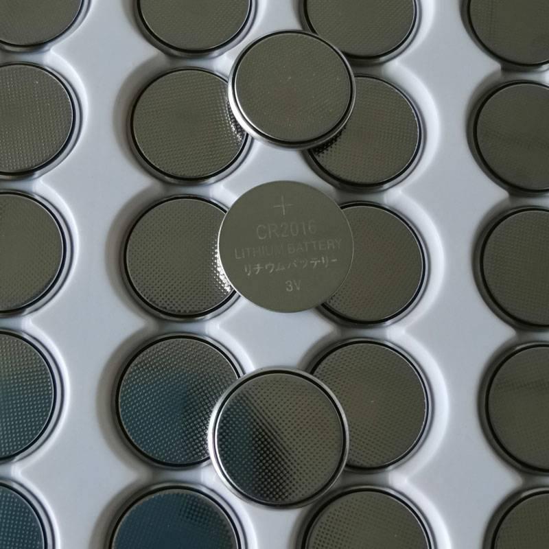 廠家直銷锂錳紐扣電池CR2016計步器溫度計發光電子産品通