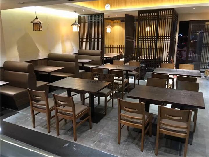 餐厅家具摆放效果实拍
