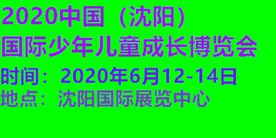 2020中国(沈阳)国际少年儿童成长博览会
