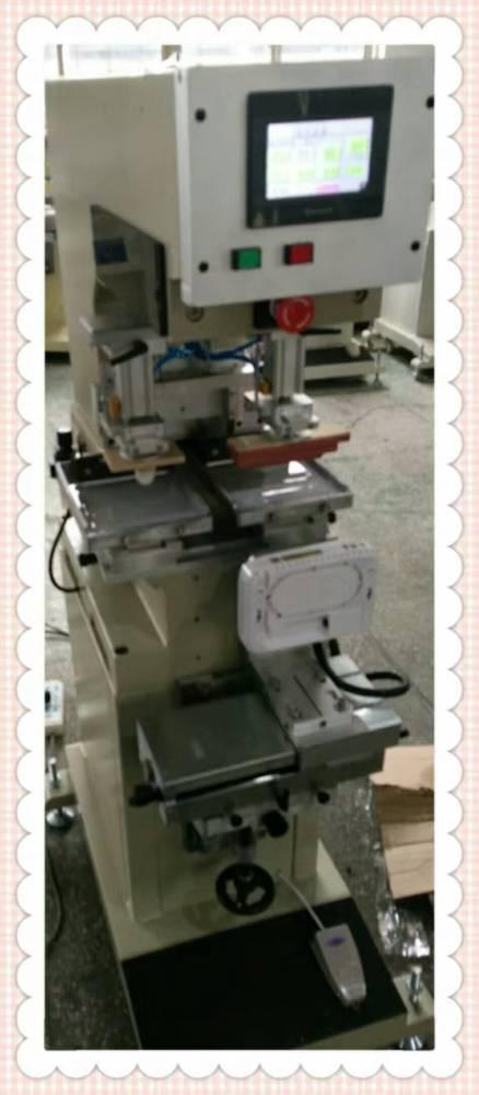 杭州花盆平面丝印机厂家半自动丝印机