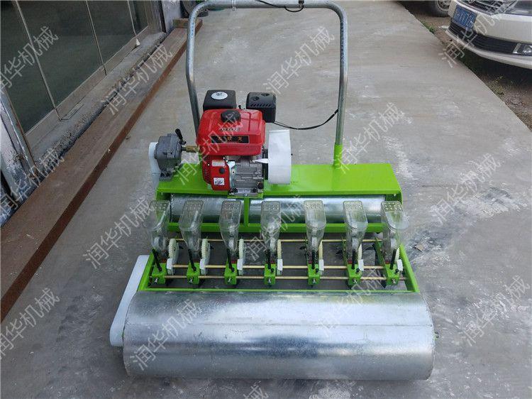 多行蔬菜播种机 汽油手推韭菜播种机 油菜香菜播种器