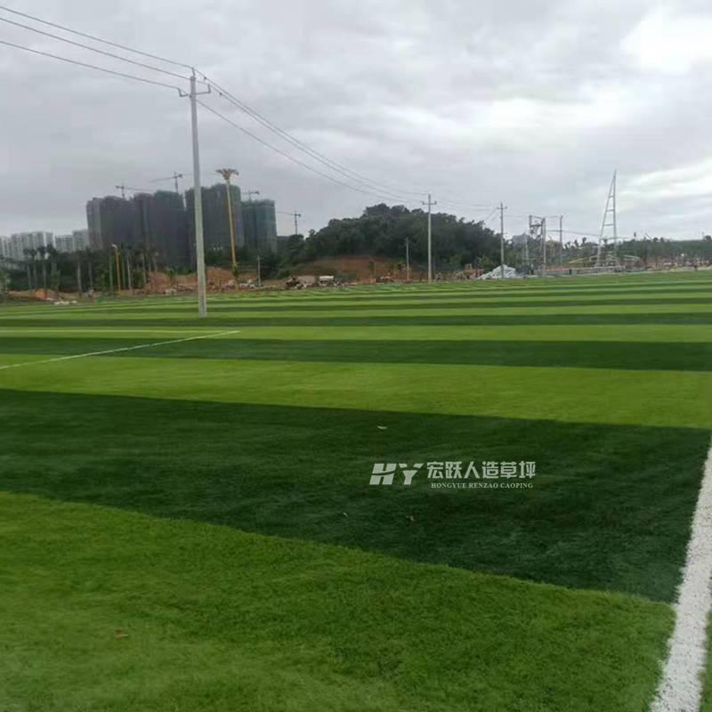 大庆仿真草坪阻燃性高5人制小型足球场仿真草坪高度接受足球场定