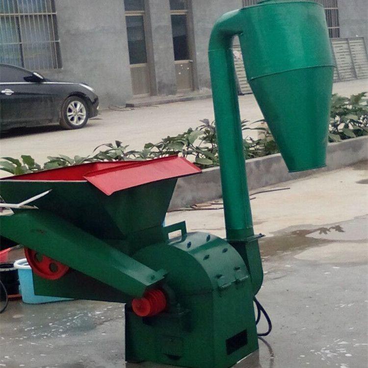 干秸秆粉碎机自动进料粉碎机型号