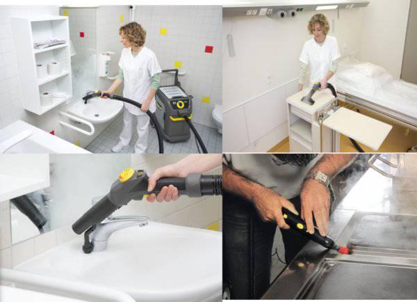 卡赫高温蒸汽杀菌设备:医院应用