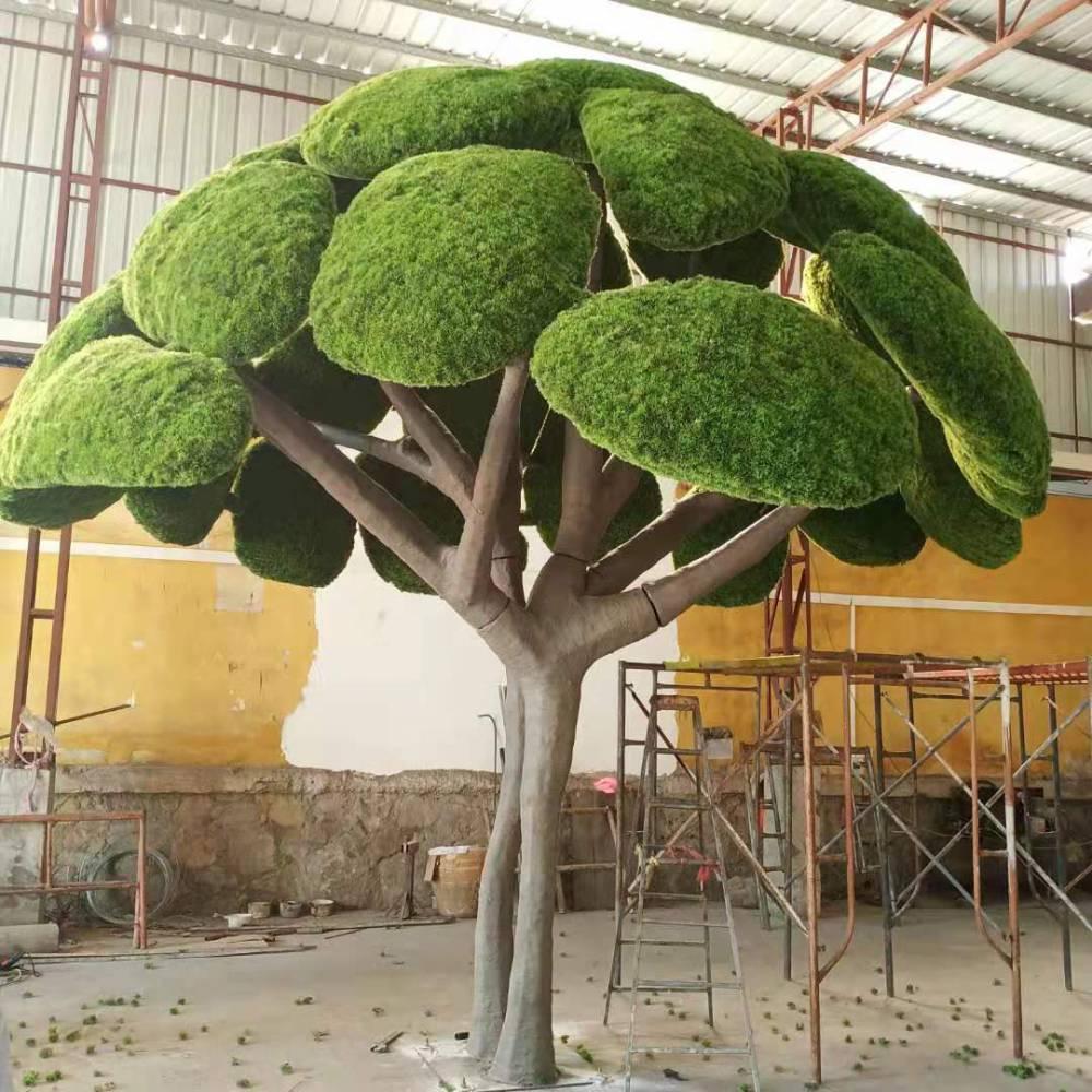 仿真櫻花樹假桃花樹大型植物許愿樹仿真桃花樹假櫻花樹婚慶裝飾樹