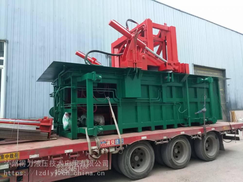 10立方地埋式水平垃圾压缩站垃圾收集站定做各种参数垃圾处理设