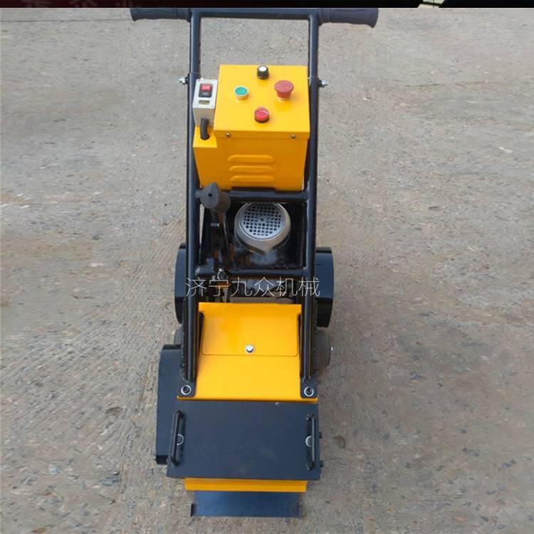 塑膠跑道鏟削機專門用于運動場地除舊翻新