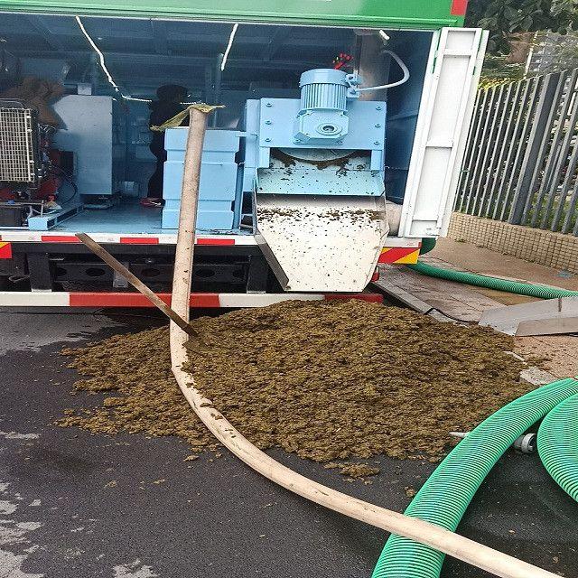 化粪池清理车-小区专用