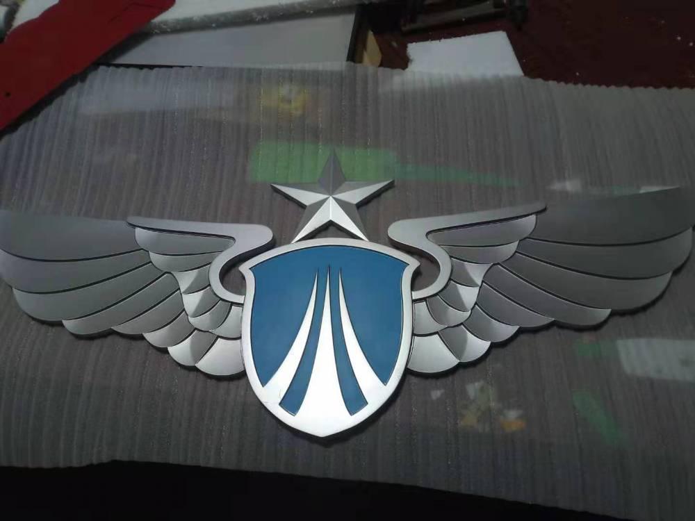 小区名称牌匾金属不锈钢镀铜包邮仿古门匾广告标识挂标牌北京制作
