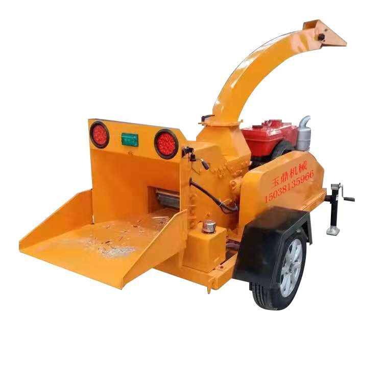 6130移动式树枝粉碎机