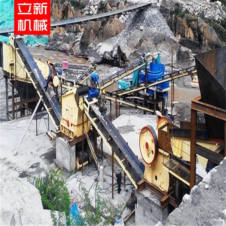 石料生产线 石子破碎机 玄武岩石料生产线