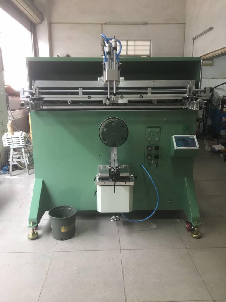 南阳垃圾箱转盘丝印机厂家伺服丝印机