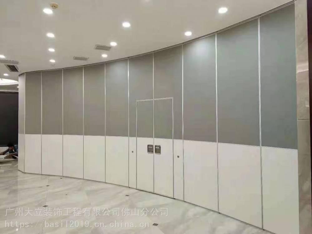 大立隔断工厂定制配套生产会议室活动隔墙 宴会厅移动隔断 包间隔音推拉门 培训室隔断门