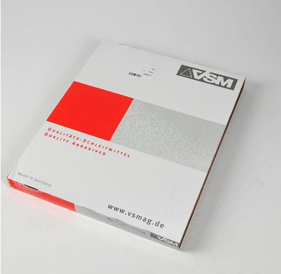 德国VSM魏氏砂纸砂布卷氧化铝碳化硅材质230x280mmK60-K400