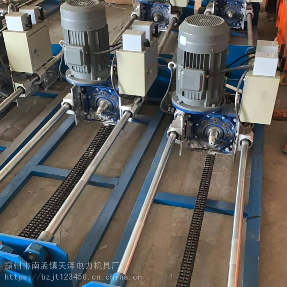 管道过路钻孔机 小型液压拉管机 水钻顶管机工作原理 天泽图片