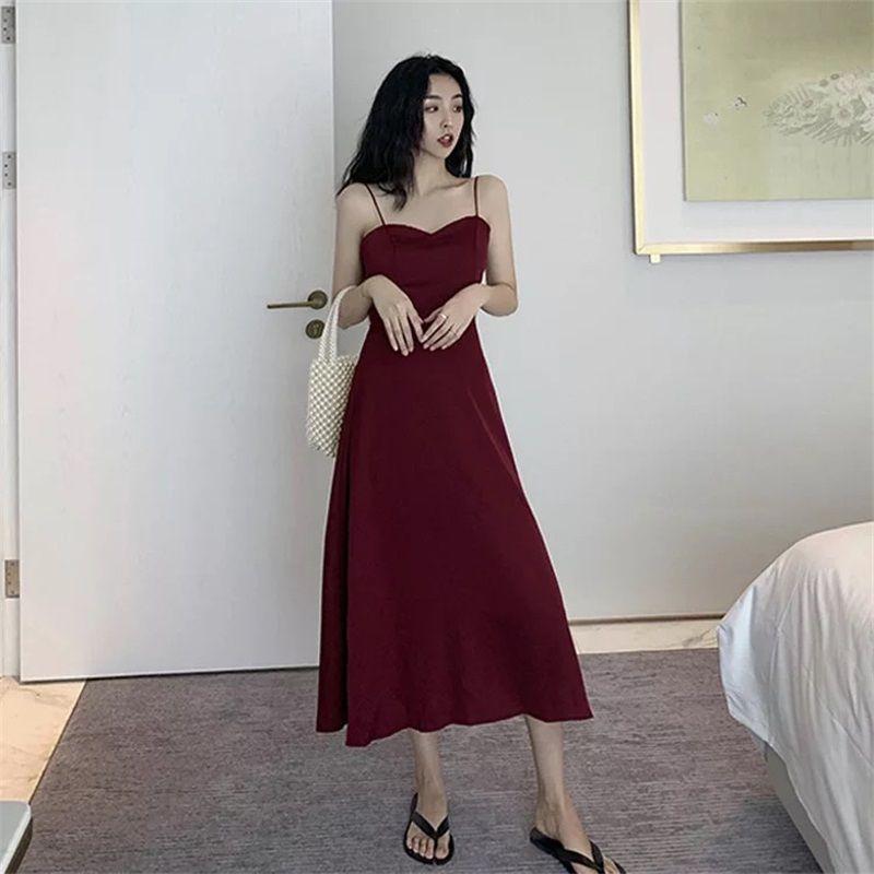 深圳服装批发 很仙的法国小众连衣裙2019夏款白色V领小清新