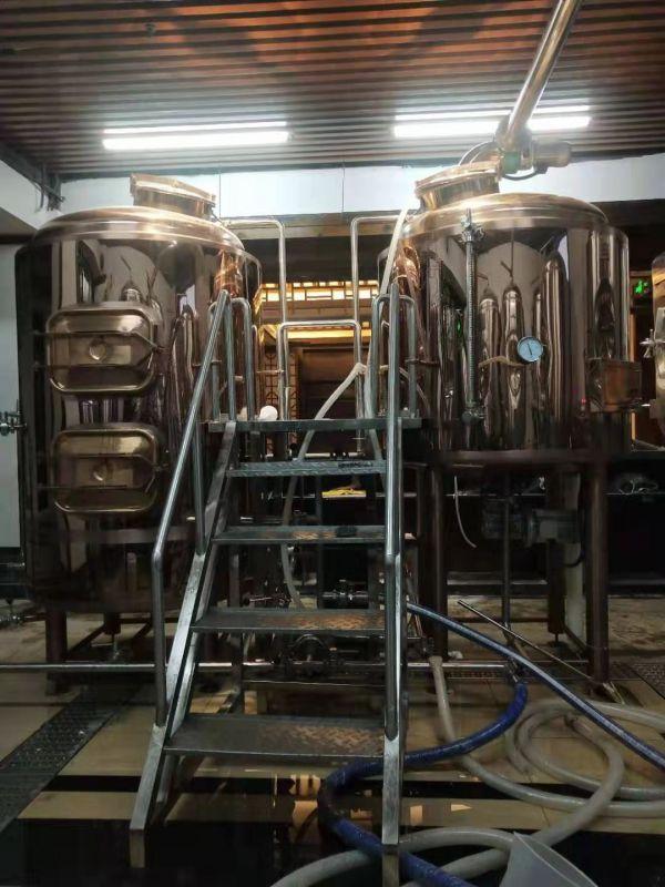 200升自酿啤酒设备、啤酒设备厂家
