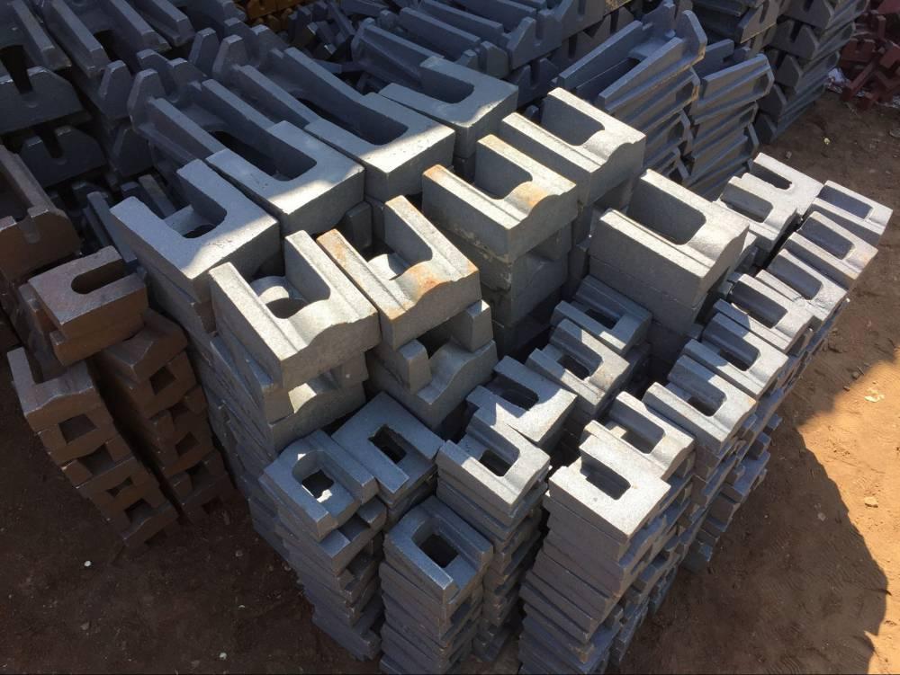 大型铸造厂家定做非标配重铁配重块 机器设备配重 电梯配重
