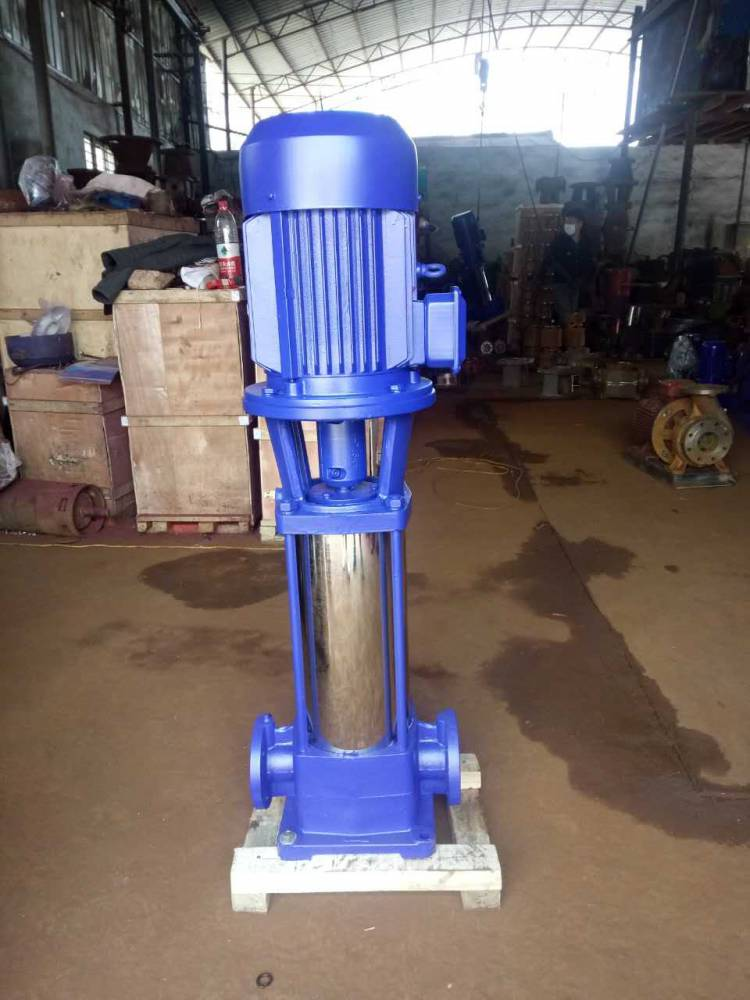 立式多级离心泵 25GDL4-11*12 4KW 浙江众度泵业