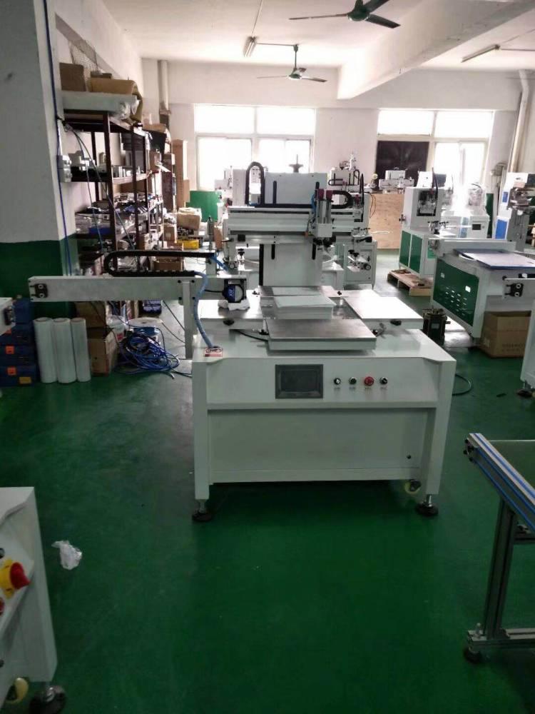 太原搪瓷不锈钢盆桶转盘丝印机厂家伺服丝印机