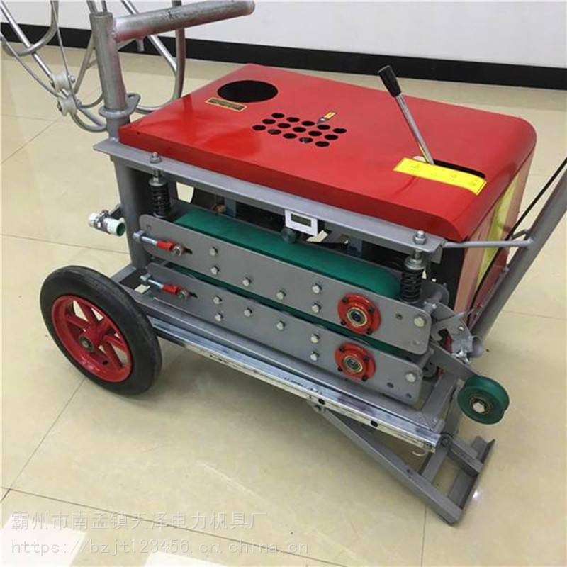 汽油机放缆机 汽油机放缆机价格 光缆井拉线机器 天泽直销