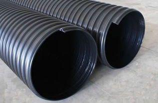 HDPE钢带增强螺旋波纹管 厂家直销 可定制