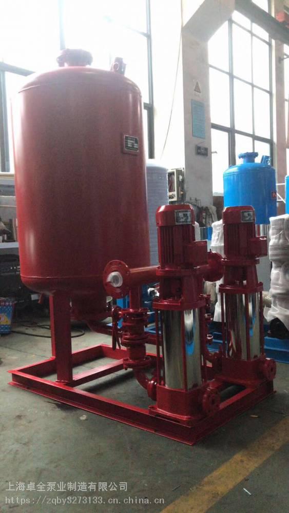 新疆哪里有消防泵卖XBD10/25-HY卓全多级室外消火栓泵/45kw加压泵