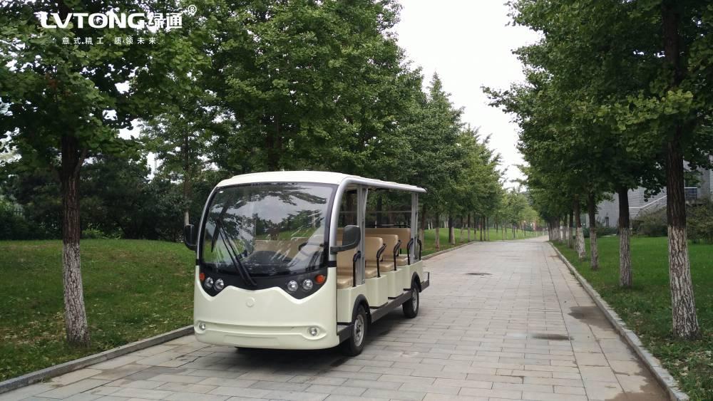 广州五羊绿通 旅游电动观光车 景区观光车 电动观光车工厂直销