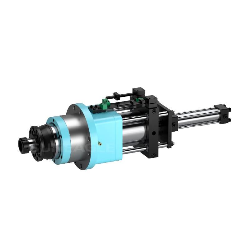 钻孔钻削动力头精密镗铣主轴头/动力头DS50水车式钻孔主轴头