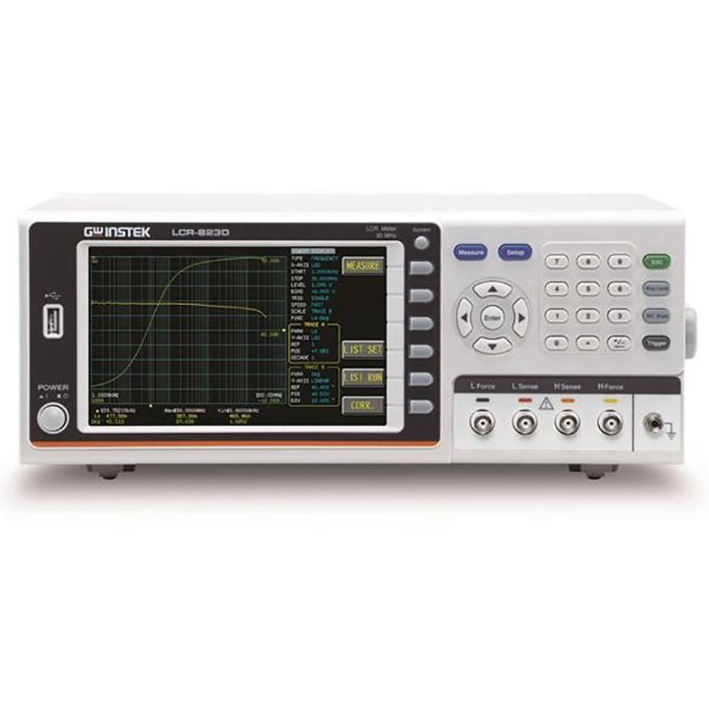 高频率LCR数字电桥8210 台湾 固纬 LCR测试仪 LC