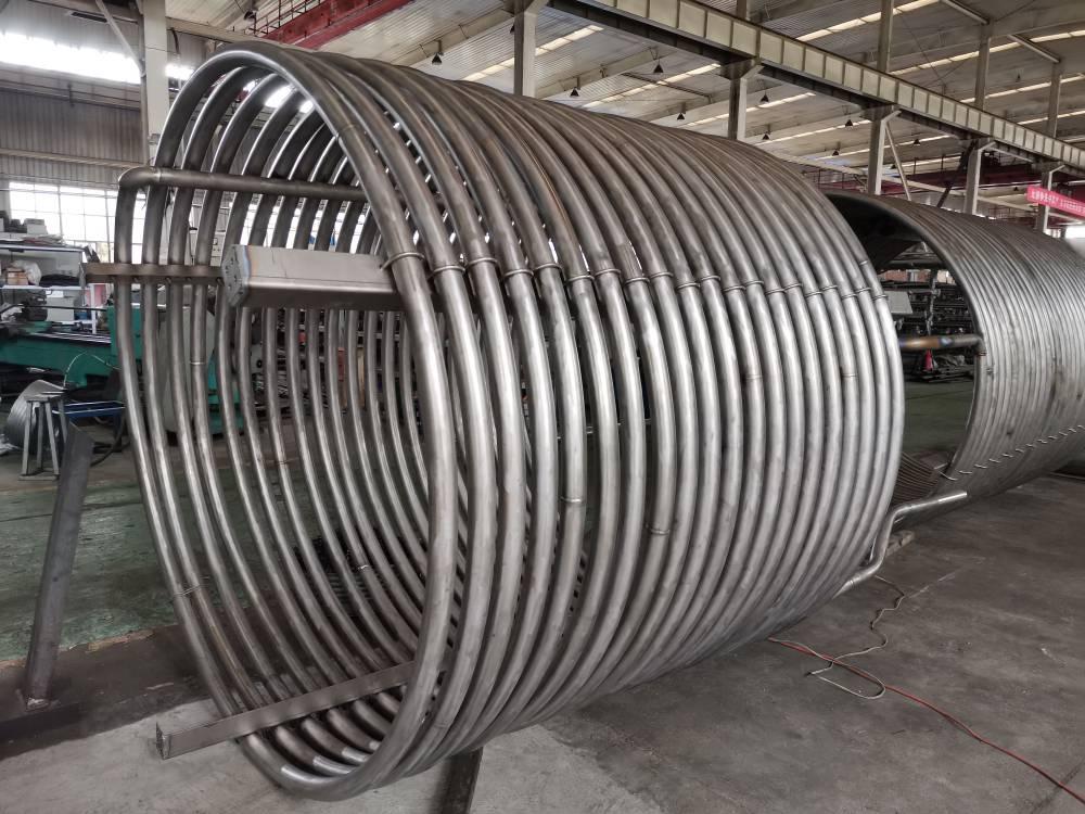 欣旺騰鈦業 專業制作鈦盤管  管徑φ25-φ133