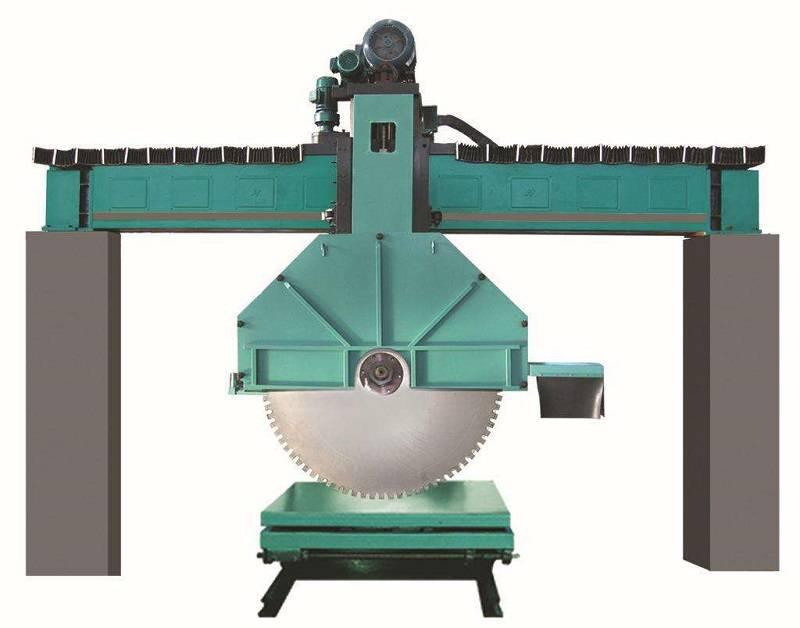 四川张总2台桥式锯石机工作视频(适用于切割机各种硬度的大理石