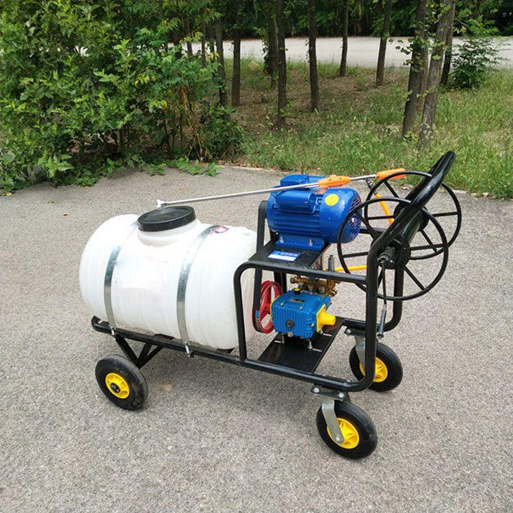 400升新款电动打药机 手推式汽油高压农用打农药机