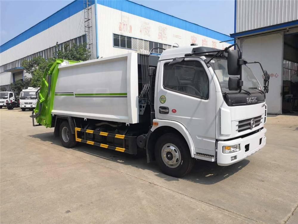 程力升级款5吨压缩垃圾车 定制3吨6吨8吨10吨12吨垃圾压