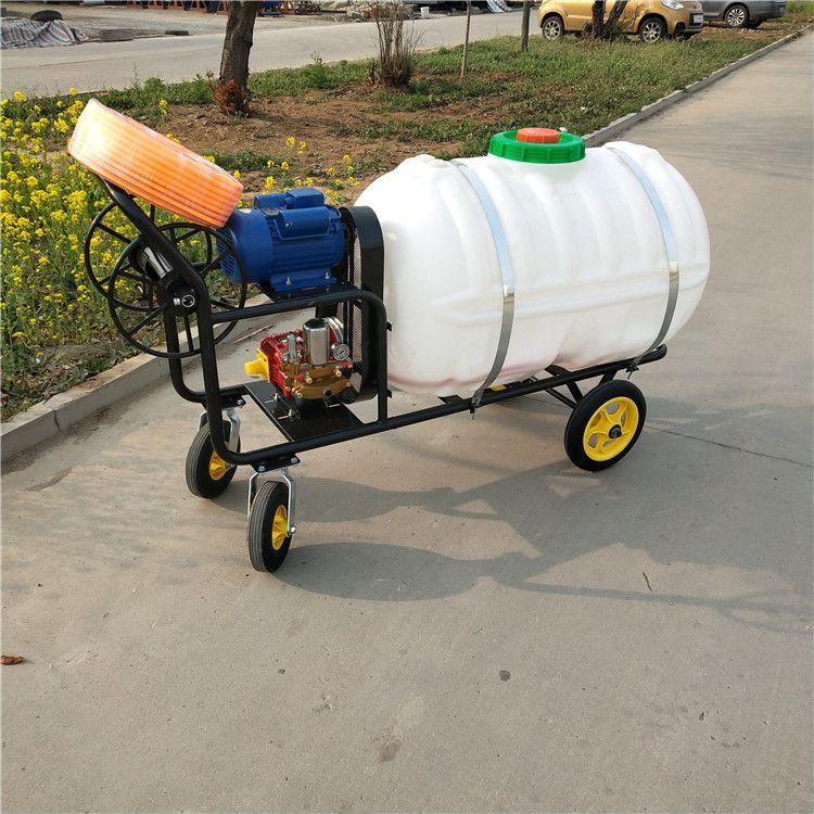 高射程蔬菜大棚打药机 400升手推式多功能喷雾打药机