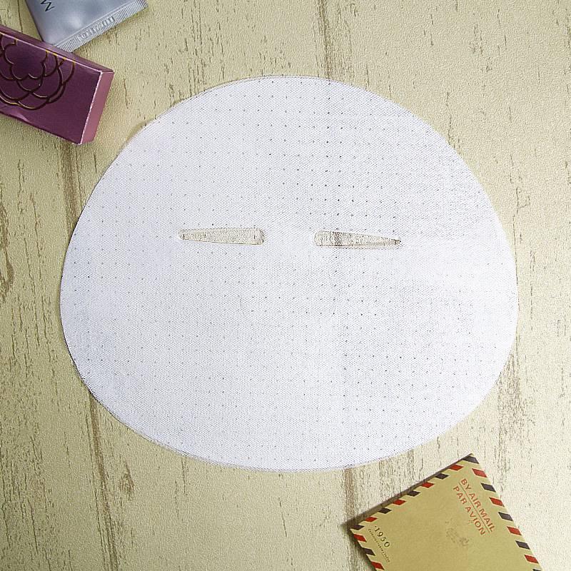 天丝面膜纸 网纹超薄植物纤维面膜布 隐形天丝面膜布定制批发