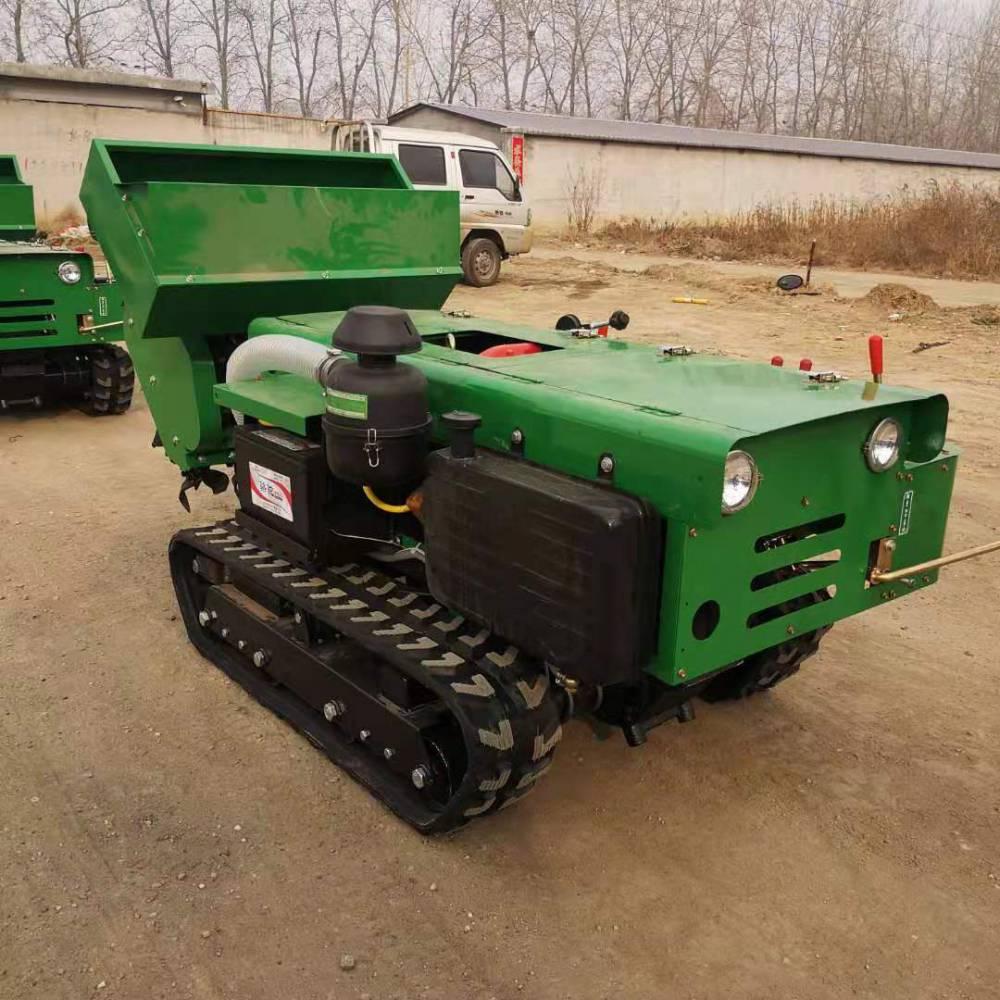 35马力履带开沟机 遥控式旋耕机 果园开沟施肥机