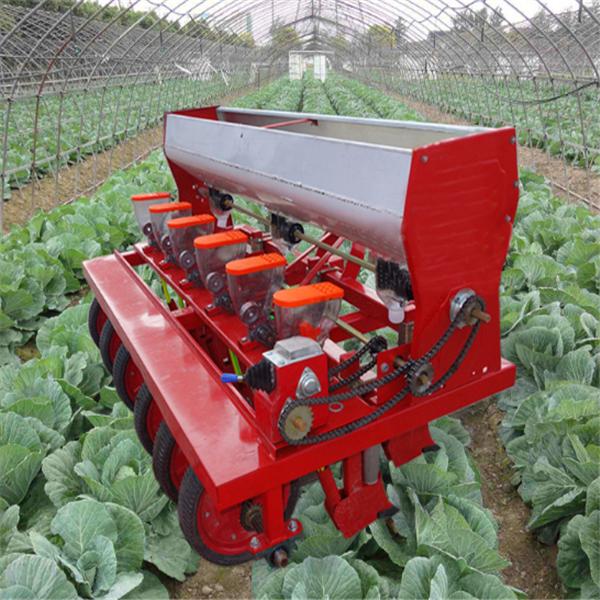 新款免耕蔬菜播种机 6-18行小麦播种机生产定制多功能种植机