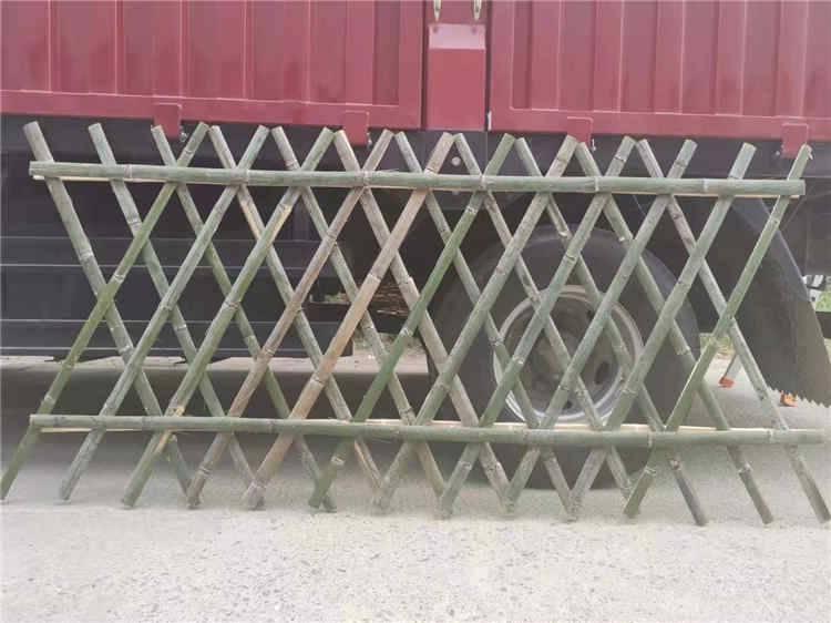 竹篱笆围栏,户外竹栅栏, pvc围挡,施工围挡等