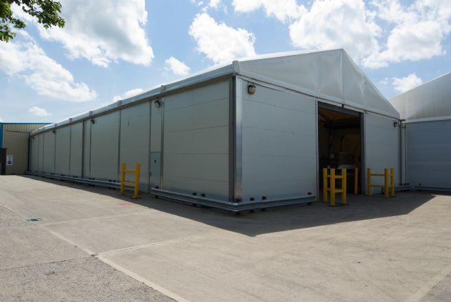供应嘉兴海宁20米宽无支柱的铝合金仓库帐篷厂家直供