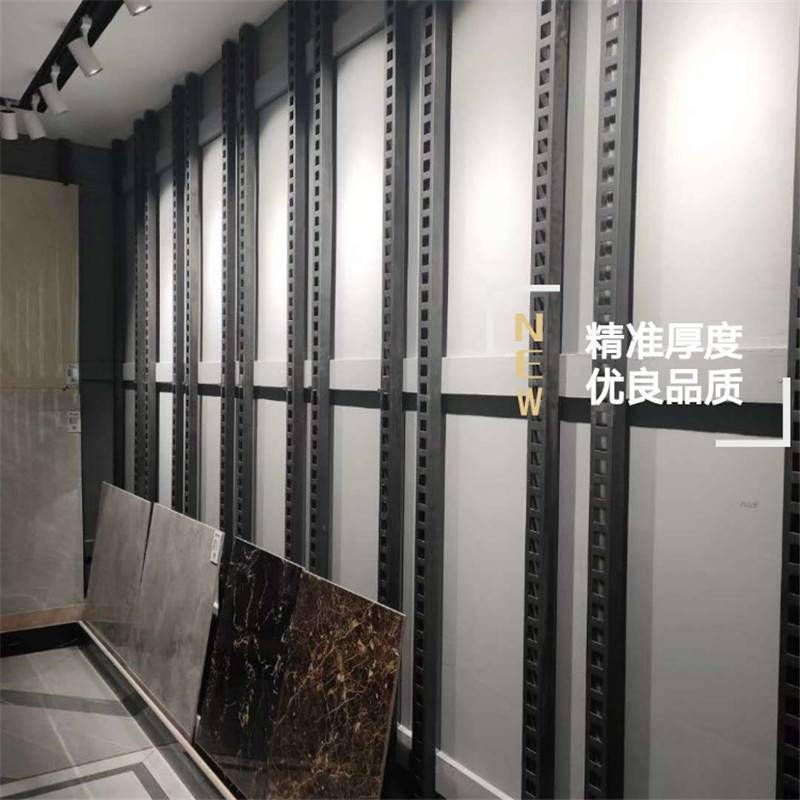 瓷砖展销台 冲孔板货架 网孔板展架生产厂家【至尚】